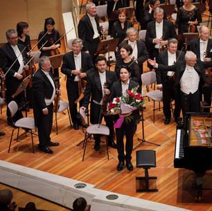Edvard Grieg Konzert a-moll, Ron Maxim Huang,  Sinfonie Orchester Berlin/ Thomas Koncz Berliner Philharmonie
