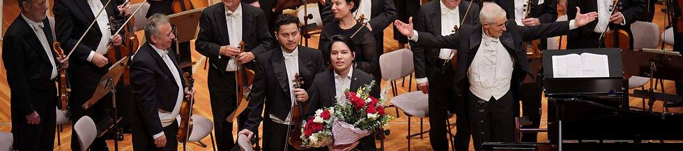 Ron Maxim Huang berliner philharmonie -