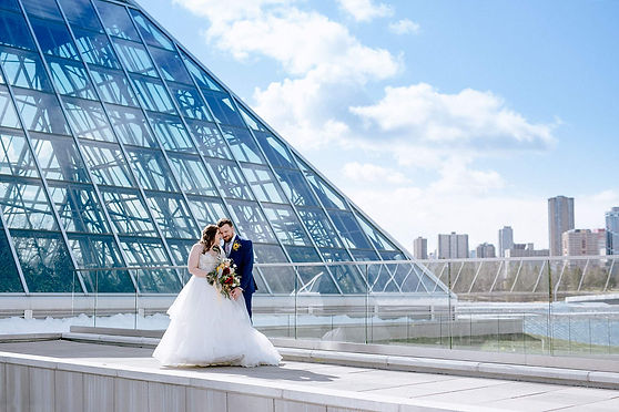 Edmonton Muttart Conservatory Wedding