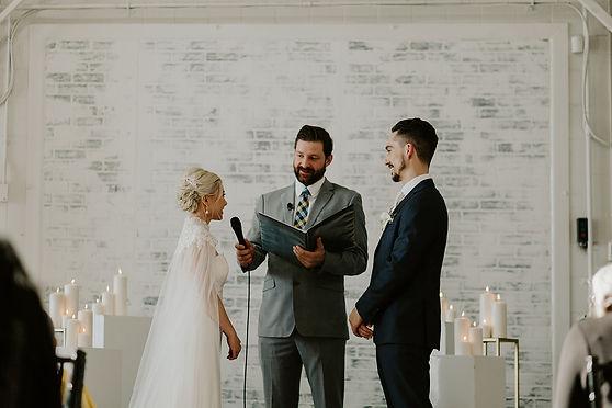 Creative Hive Wedding Ceremony