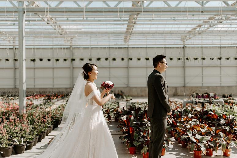The Enjoy Centre Greenhouse Wedding Edmonton
