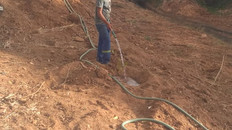 Projeto ECCO e Secretaria Municipal de Meio Ambiente na limpeza e reflorestamento do Rio Santa Maria