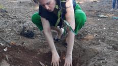 Plantio as margens do Rio Santa Maria do Doce - Vila Espanhola