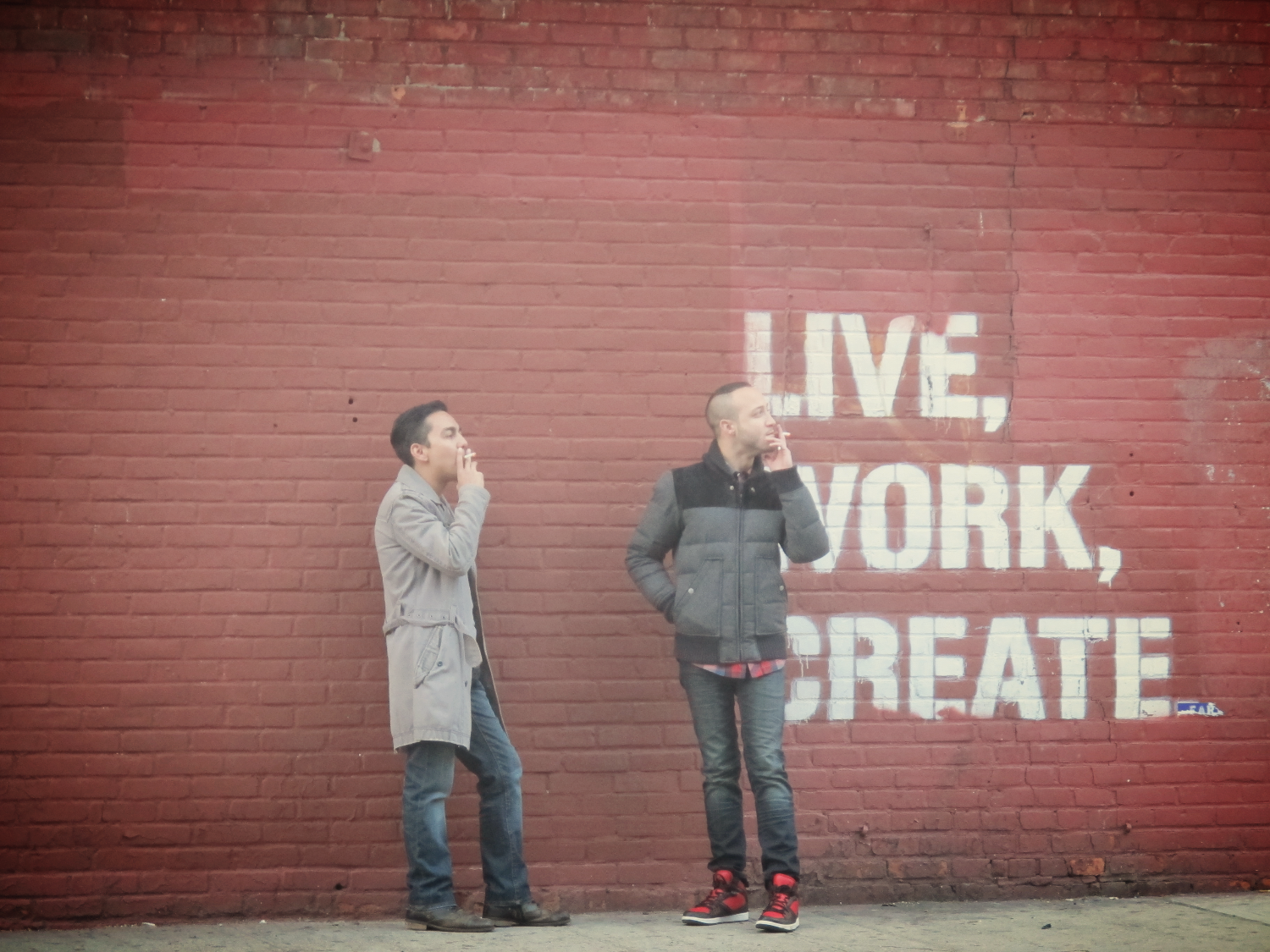 New York_love work create ©Cécile Favier