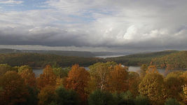 Massachusetts. Quabbin reservoir