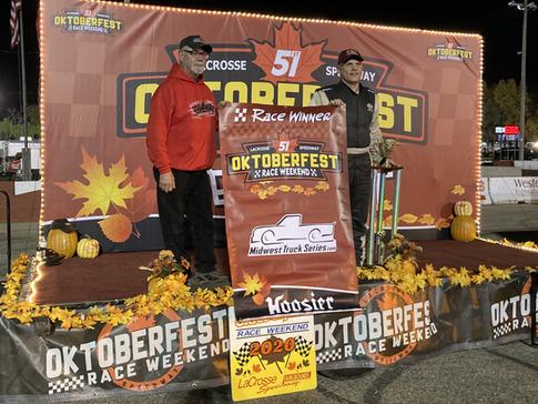 10/10/20 Oktoberfest La Crosse Speedway Results