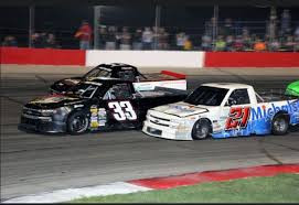 The Trucks Set for Wisconsin's Action Track