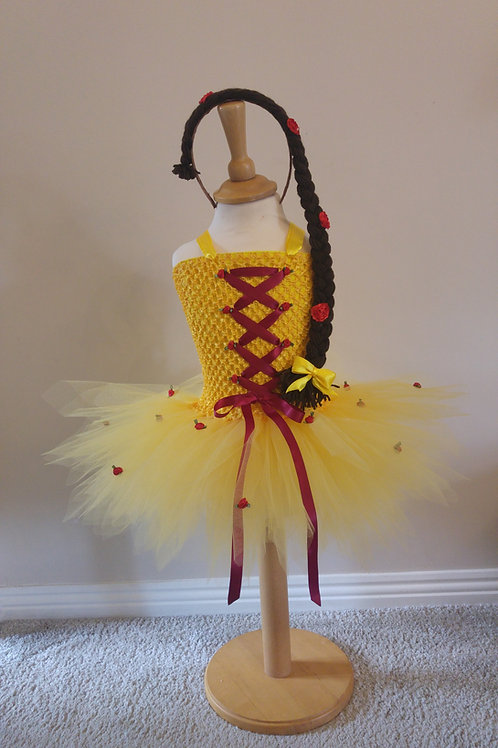 Belle Disney inspired Tutu Dress