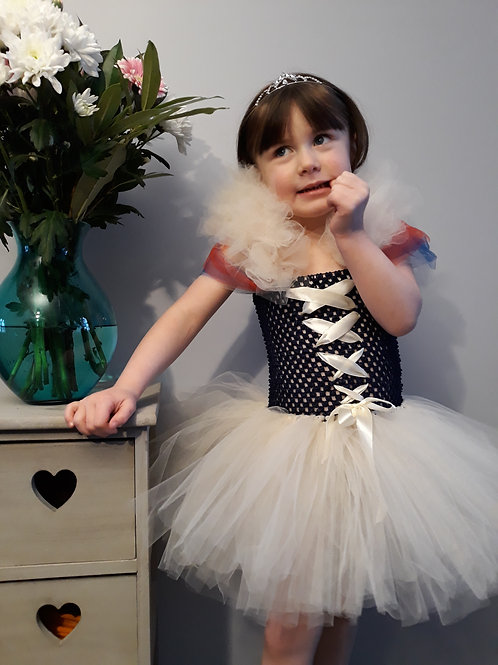 Snow White Disney Inspired Tutu Dress