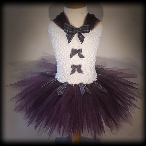 A Wee Scottish Thistle Tutu Dress