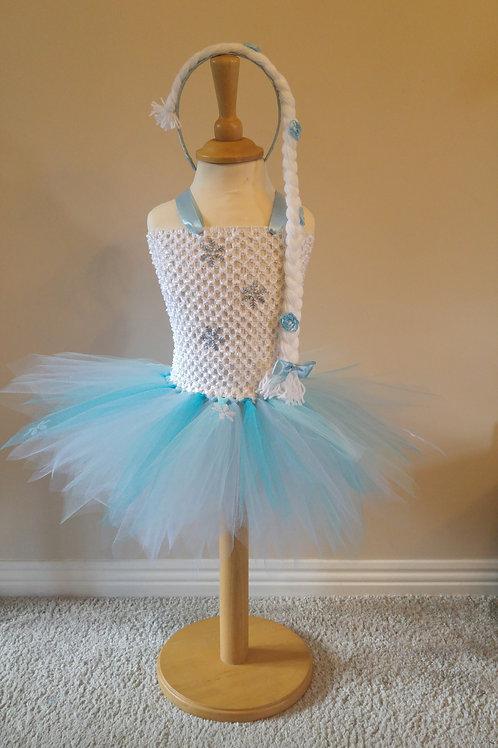 Elsa Disney inspired Tutu Dress