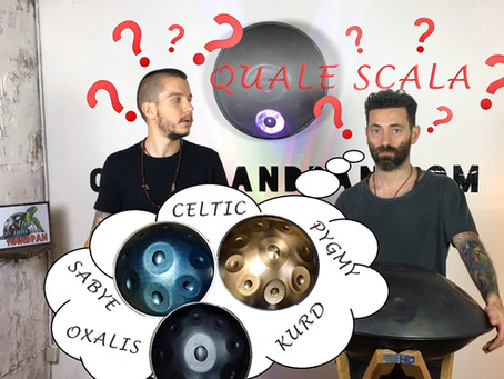 Handpan: la Scelta della Scala