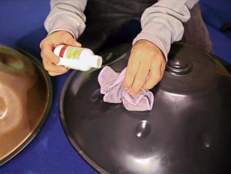 Cura, Pulizia e Manutenzione dell'Handpan