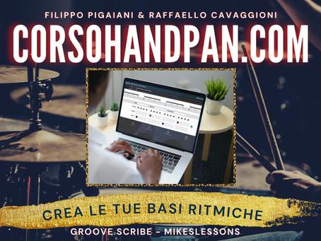 """Video Tutorial Groove Scribe - Crea le tue """"Basi Ritmiche"""" per suonare con l'Handpan"""
