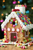 Mini chef – Gingerbread house party!
