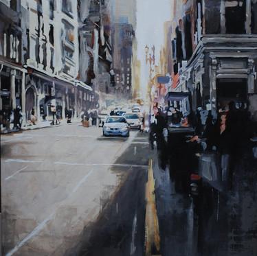 La pittura realista nell'era dell'alta definizione. Seguendo le pennellate di Virginia Vargas.