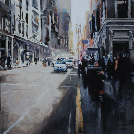 The Realist painting in the high-definition era. Following the brush strokes of Virginia Vargas.