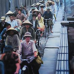 01) Ponte cinese(olio su tela)04- 2016 -