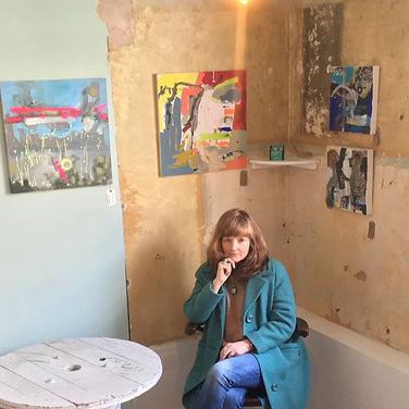 Deborah Gardner with Art Work.jpg