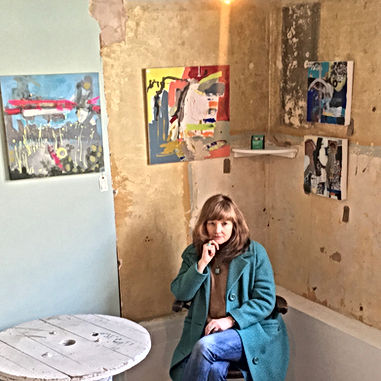 Deborah Gardner with Art Work.jpg