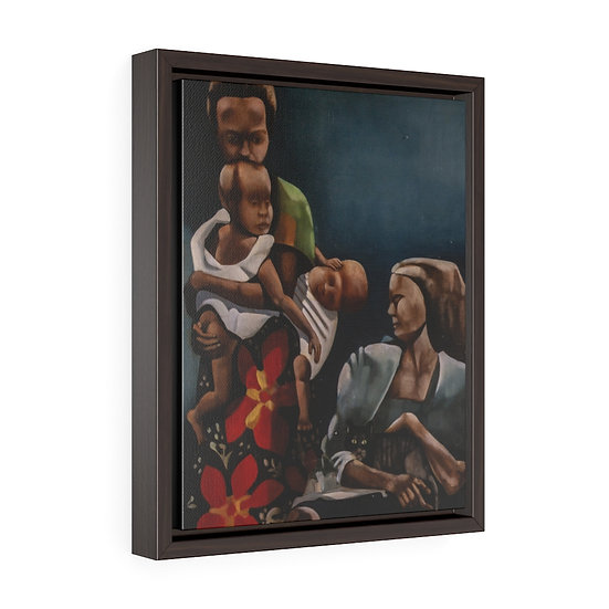 Alfonso Bisson - African Family