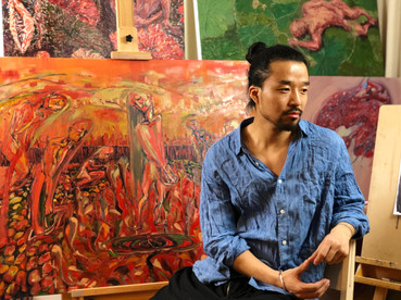 """""""The Blood of Life"""". An interview with Mingzhang Sun"""