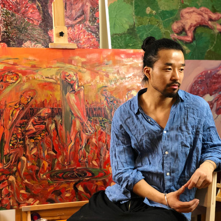"""The Blood of Life"". An interview with Mingzhang Sun"