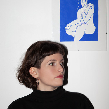 L'arte della linoleografia. Un'intervista a Léa Marchal