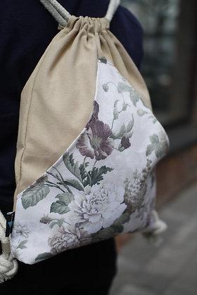 Plecak Worek - Kwiaty 2
