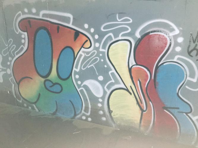 Urban Painting Piece