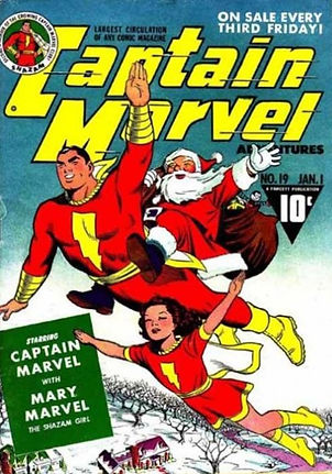 CAPTAIN MARVEL ADVENTURES SANTA COMIC BO