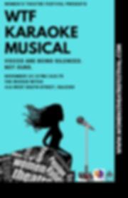 WTF Karaoke Musical Poster