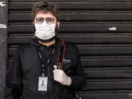 Fotógrafo relata drama em cobertura de pandemia no Brasil