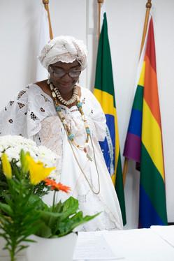 Vice Presidente do Instituto Omindaré Ana Paula