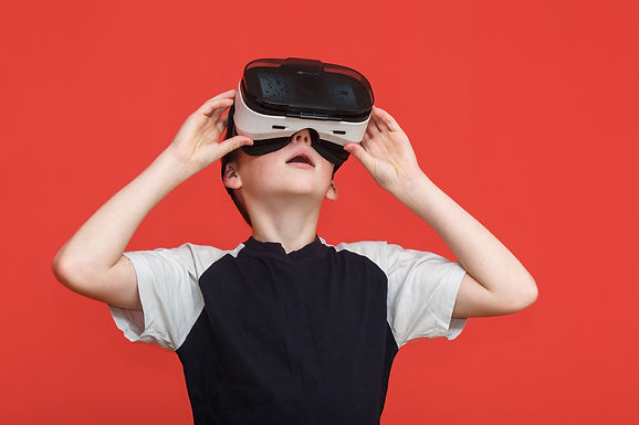 Virtual Reality-3D Gaming Adventure (Ages 8 - 14)