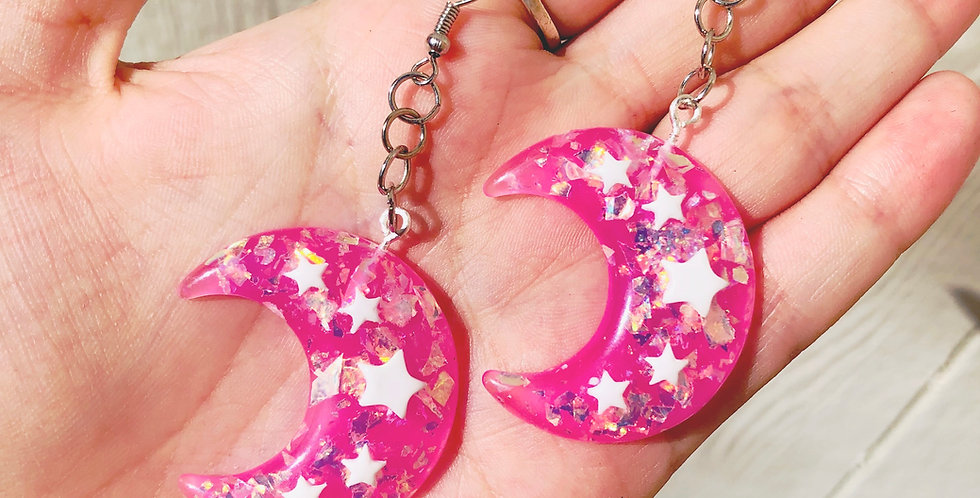 Space Princess Earrings
