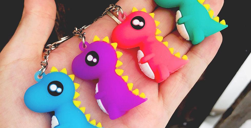 Kawaii Dino Keychains