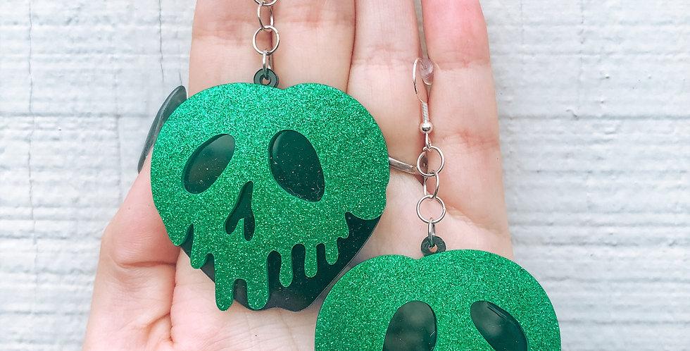 the poison apple earrings