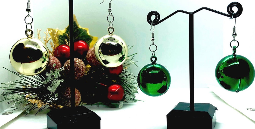 large glossy ornment earrings *choose color*