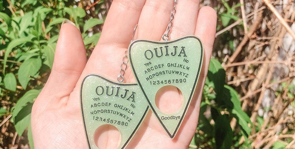relish ouija planchette earrings