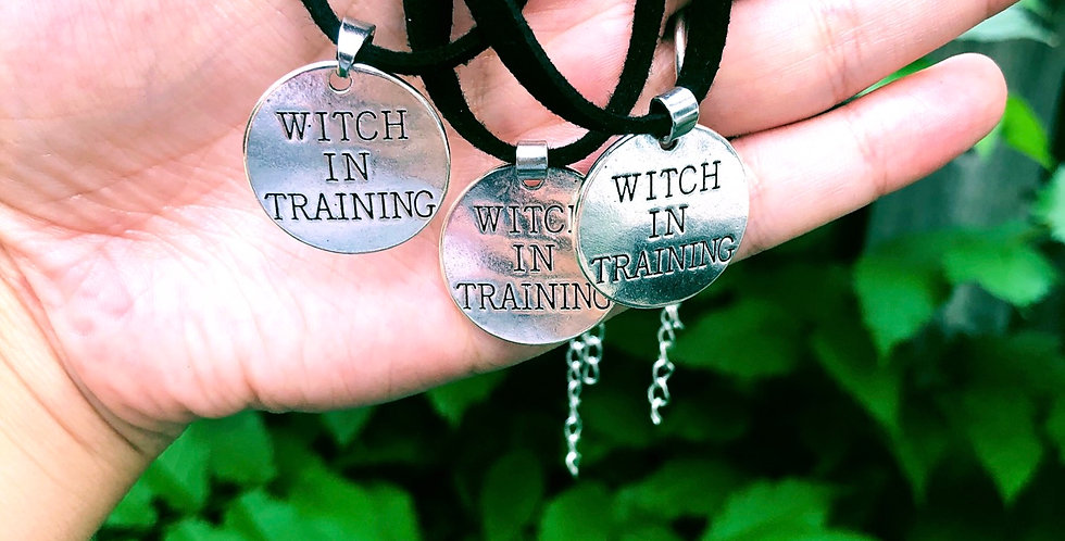 Witch In Training Choker