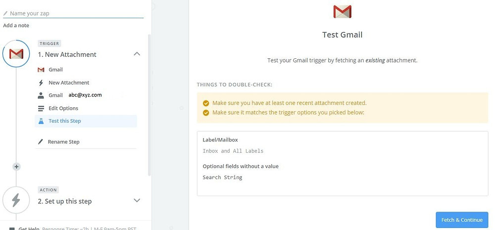 Parse resumes from Gmail to Salesforce