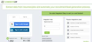 Resume parser Salesforce