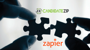 CandidateZip Goes Public on Zapier