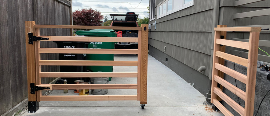 Movable Fence for driveway