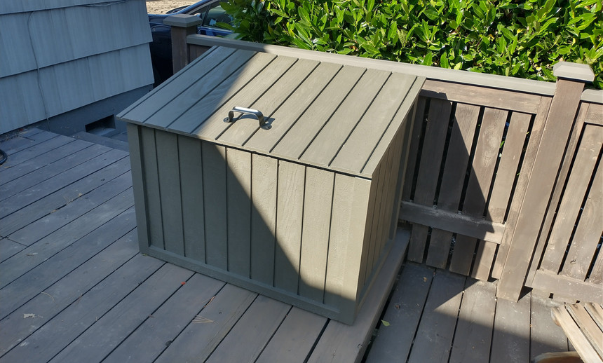 Box painted