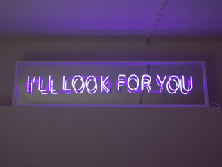 I'll Look For You