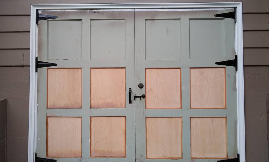 Door panel replacement
