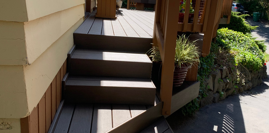 Deck resurface with upgrades