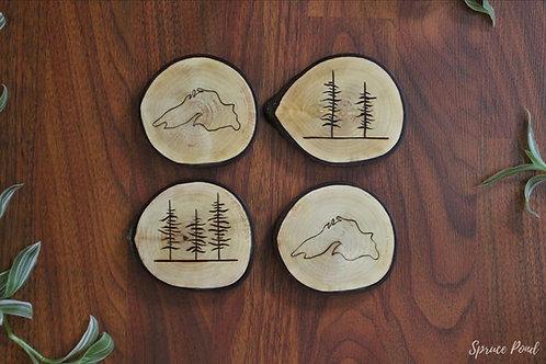Spruce Pond Coasters